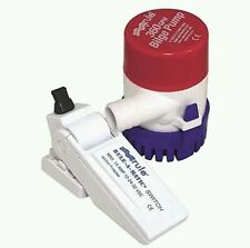Rule Combo Round Bilge Pump and Float Switch  360 GPH - Marine 24-35A