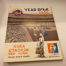 New York Mets 1965 Yearbook Excellent Condition Rare Baseball Find