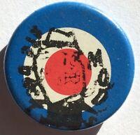 MODS ARE BACK Old OG Vtg 1980`s Button Pin Badge 25mm Mod Target