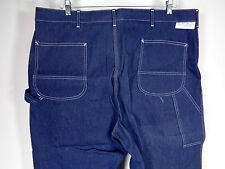 Vintage Sears Union Made Carpenter Jeans Pants 46 x 27 Dark Wash