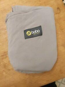 Boba Baby Wrap Carrier, Baby Sling - Gray. Newborn Kangaroo Care Wrap