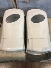 2 Dial Complete Foaming Hand Soap Manual Dispenser White Wall Units - New