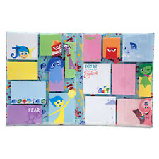 Disney Store Pixar Inside Out Sticky Note Pad Set 16 Designs 30 sheets each New!