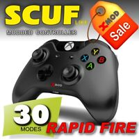 XBOX ONE S Modded Controller, SCUF Like, PRO CHIP RAPID FIRE MOD REMAP - XMOD 30
