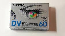2 Cassette MiniDV da 60 minuti TDK