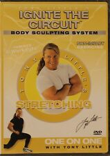 New Tony Little's Stretching Ignite The Circuit body sculpting workout Dvd