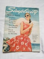 Simplicity Summer 1956 Pattern Preview Magazine Bridal