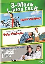 3-Movie Laugh Pack: Happy Gilmore/Billy Madison/I Now Pronounce You Chuck &...