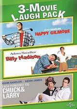 NEW-Happy Gilmore/ Billy Madison/ I Now Pronounce You Chuck & Larry(DVD, 2 DISC