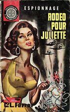 Arabesque Espionnage 309 - C. L. Ferrer - Rodéo pour... - EO 1964 - Jef de Wulf