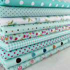 """100% Cotton 9 Assorted Pre Cut Charm 10"""" Squares Quilt Fabric F209"""