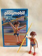 Playmobil 5201 olympique de javelot Souffleuse