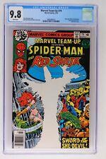 Marvel Team-Up #79 - Marvel 1979 CGC 9.8 Mary Jane Watson as Red Sonja. Kulan Ga