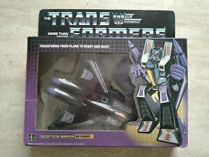 Skywarp 1984 Vintage Hasbro G1 Transformers Action Figure BOXED - 232