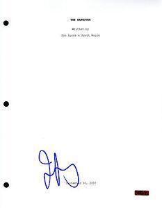 GFA The Hangover JEFFREY TAMBOR Signed Full Movie Script AD2 COA