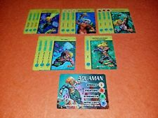 Overpower Aquaman Player Set hero Jla 13 sp Hook Line Dolphin Justice League