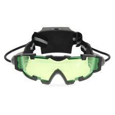 Kids Adjustable Elastic Band Night Vision Googgle Glasses Eye Shield Xmas Gift