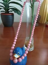6-14mmBeautiful pinkRhodochrosite gemstone necklace 47cm- UK seller P2
