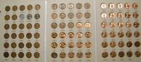 Higher Grade set 1941-1974 PDS Lincoln Wheat & Memorial Penny Cent G-BU 90 coins