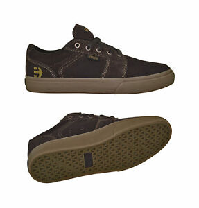 Etnies Barge LS dark brown Skater Schuhe/Sneaker braun