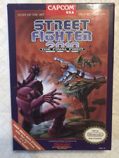 Street Fighter 2010:The Final Fight NES CIB Nintendo Complete (Tested & Working)