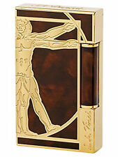 S.T. Dupont Ligne 2 Vitruvian Man Lighter Prestige Edition, 16163 (016163) NIB