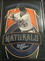Mike Trout Naturals Insert 2019 Panini Leather & Lumber Los Angeles Angels