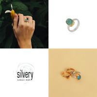 Silvery Ring Smaragd Silber 925 schmuckrausch