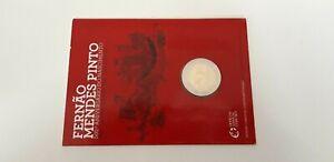 Portugal 2011 - 2 euro commémoratif - Fernando Mendes Pinto - Coincard