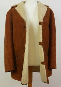 Richard Draper Brown Sheepskin Coat (40)