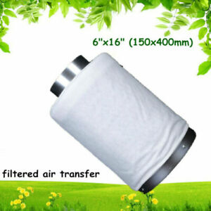 Greenhouse Hydroponics Ventilation Carbon Filter 6 inch for Grow Tent Kit