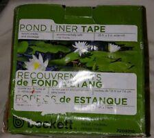 "Beckett 25' x 3"" Wide Roll Pond Liner Tape"