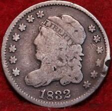 1832 Philadelphia Mint Silver Capped Bust Half Dime