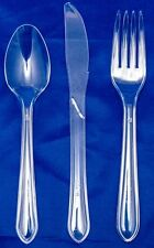 Clear Heavy Duty Cutlery (300) A Must For Any Christmas Party/Buffet