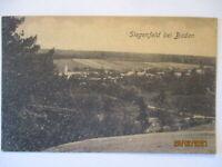 Siegenfeld bei Baden, Cafe und Gastwirtschaft Tobias Huber ca. 1919 (64543)