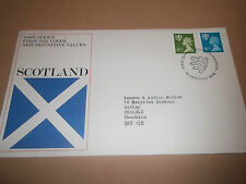 POST OFFICE FIRST DAY COVER NEW DEFINITIVE VALUES SCOTLAND 1976 EXCELLENT