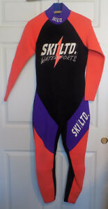 Ski Ltd Watersports Wet Suit Neoprene Medium