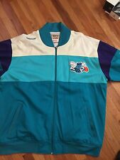 Mitchell And Ness Charlotte Hornets Warm Up Jacket