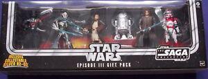 Star Wars Saga Collection Episode 3 Gift Pack 2005 Action Figure Set