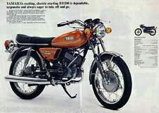 YAMAHA RD200 1973 PAINTWORK DECAL SET
