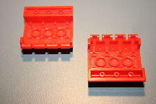 Lego Red Slope Brick 45 4x4 Double With Hinge Ref. 4857  Harry Potter 4708