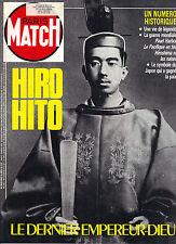 COUPURE DE PRESSE CLIPPING 1989 HIRO HITO Le Dernier Empereur-Dieu