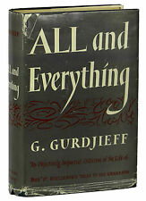 Beelzebub's Tales to His Grandson All & Everything GURDJIEFF ~ 1st Edition 1950