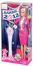 2012 BARBIE I CAN B PRESIDENT CAUCASION DOLL Chris Benz Designer  NRFB