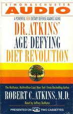 Dr. Atkins Age-Defying Diet Revolution by Robert C. Atkins M.D. (2000, Audio)