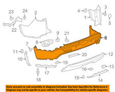 GMC GM OEM 17-18 Acadia Rear Bumper-Cover 84142252