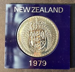 1979 New Zealand $1  Commemortive (Crown) Coin World Coin