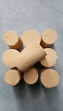 Bouchon en liège pour bouteille,10 bouchons en liège conique,stockage moins 1 an