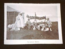 La caccia in Marocco nel 1905