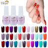 Ukiyo Soak Off UV/LED Gel Nail Polish UV Varnish Manicure No Wipe Top Base Coat